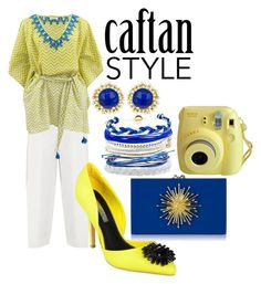 """caftan for hari raya"" by laurencia-813 on Polyvore"