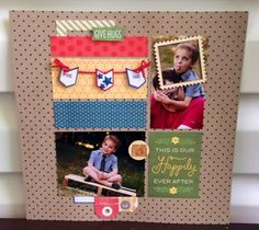 Happy Home Front Porch Kit- Single Layout designed by Natalie Sherran