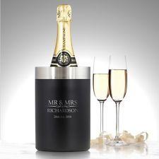 Heritage Personalised Luxury Bottle Wine Cooler Wedding Christmas Gift