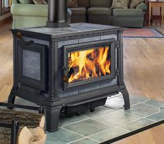 HearthStone Equinox Wood Stove Left Side Door