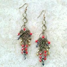 Tokio Love Letters Handmade Earrings -Tommy Bee Handmade Tommy Bee Jewelry Earrings