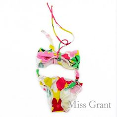 #missgrant PRINTED BIKINI SET WITH BANDEAU TOP. Sale 50% off Spring&Summer Collection! #discount