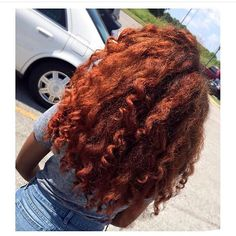 ginger copper on black girls hair  black girl  Red Hair Color and Laura Mercier Pink Rose