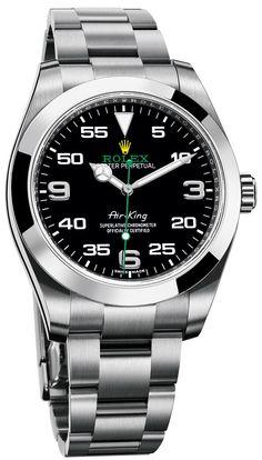 Rolex Oyster Perpetual Air-King - Новые пилотские часы Ролекс | Luxurious Watches