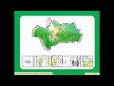 Himno de Andalucía en pictogramas