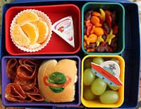 OVER 900 (photo's included)!!!     Toddler lunch ideas all mixed into Bento Box deal-ios!!   This will be my kid meal bible for a long time :).