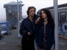 """"""" Michael Beck & Deborah Van Valkenburgh by Andrew Laszlo """" The Warriors Sell Comic Books, Cagney And Lacey, Chicago Hope, Michael Beck, Warrior Movie, Too Close For Comfort, Diego Luna, Anthology Series, Coney Island"""