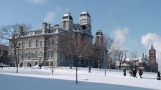 Busy bemusing myself on where to apply (despite it being a year and a half in the future). Here's Syracuse University. I'd prefer something in NYC, but it's on my list.