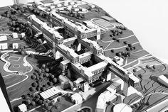 Karel Prager city above the city, super structure vision