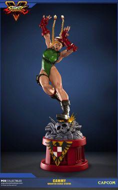 Crunchyroll - Cammy 1/4 Scale Statue - Street Fighter 5