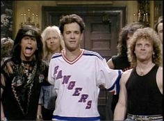 Tom Hanks and Aerosmith on SNL