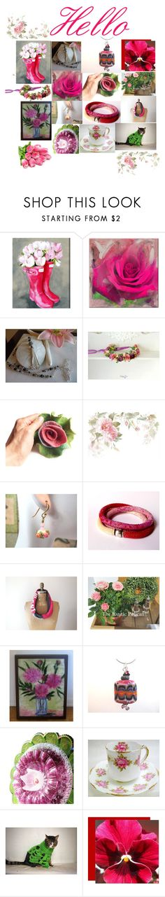 """""""Amazing Gifts"""" by therusticpelican ❤ liked on Polyvore featuring Oliver Gal Artist Co., Ready2hangart, modern, contemporary, rustic and vintage"""