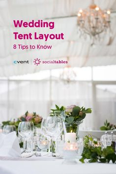 Whether you plan to host a ceremony or reception outdoors, creating the right wedding tent layout is key to helping everything run smoothly. Create the right atmosphere, sort out logistics, and maximize space by following the suggestions listed throughout this post. Then, learn more about how to create a wedding tent layout for your unique event and what our Event Diagramming solutions can do to make the process a whole lot easier. Wedding Costs, Wedding Advice, Plan Your Wedding, Reception Table, Wedding Reception, Rustic Wedding, Reception Ideas, Wedding Tables, Wedding Bride