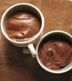 Food Processor Chocolate Mousse