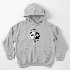 Panda Head, Games To Buy, Darwin, Hoodies, Sweatshirts, Chiffon Tops, Classic T Shirts, Black And Grey, Boys