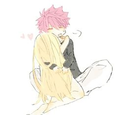 Natsu e lucy Lucy Fairy, Fairy Tail Natsu And Lucy, Fairy Tail Love, Fairy Tail Nalu, Fairy Tail Ships, Natsu E Lucy, Fairy Tail Pictures, Fairy Tail Comics, Fairy Tail Characters