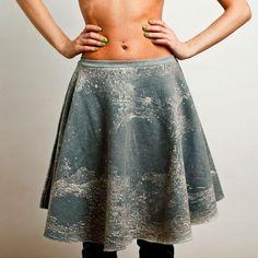 MALPH FELPA LUNA skirt