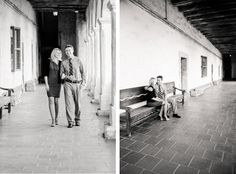 Engagement Portraits – Santa Barbara Mission