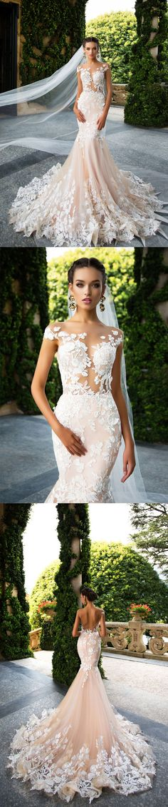 stunning mermaid wedding dresses