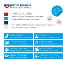 Pants People - Nuts about Pants - Corporate Identity Design