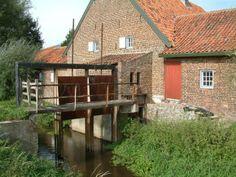 Flour mill, Dieterdermolen, Dieteren, the Netherlands.