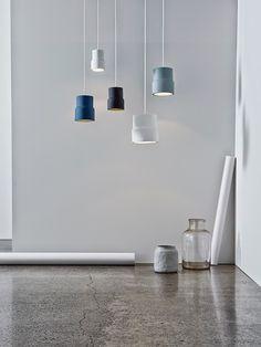 T.D.C | Home NZ Award finalist: The Notch pendant lights by Emma Fox-Derwin and Nigel Groom of Wellington's Well-Groomed Fox.