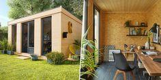 Studio de jardin: la solution rêvée pour avoir une pièce en plus!