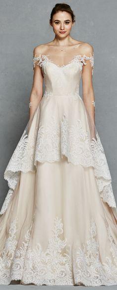Long-sleeve Wedding Dress by Kelly Faetannini Spring 2017 | Bridal Gown | Wedding Gown