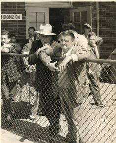 A rare vintage press shot of comic legends' Bud Abbott and Lou Costello, circa late 1940s