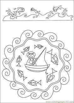 free printable coloring image Mandalas 42