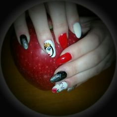 Cartoon gel nails 2016