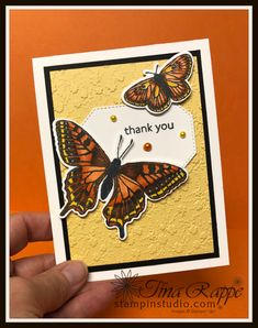If you'd like step by step instructions on how to make this lovely card featuring the Butterfly Brilliance Bundle check out my blog! All Things Fabulous, Butterfly Cards, Embossing Folder, Step By Step Instructions, Thank You Cards, Card Stock, Stampin Up, Art Gallery, About Me Blog