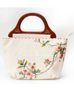 Hand-painting Canvas Tote Bag – 2 Designs