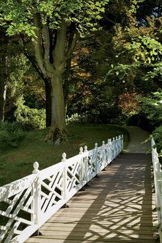 Chippendale Chinoiserie style bridge railing