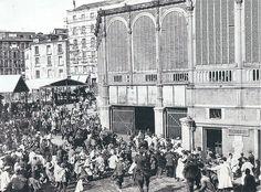 Junio de 1914. Disturbios en el mercado de la Cebada por la subida del precio del pan. | Flickr: Intercambio de fotos