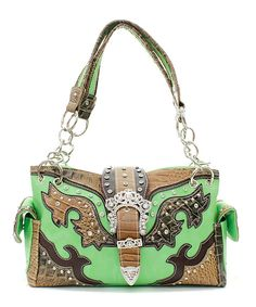 NEW! Lime Green Cowgirl Purse! Check it out! http://www.buckaroobay.com/catalog.php?item=7347