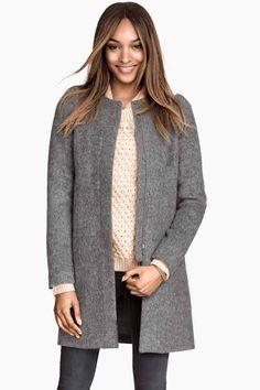 Cappotto misto lana | H&M