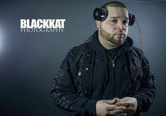 DJ Mekanix photoshoot in studio #blackkatphotography