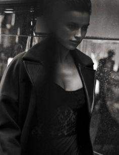 "Irina Shayk "" Walking "" by Peter Lindbergh Vogue Italia October 2016"