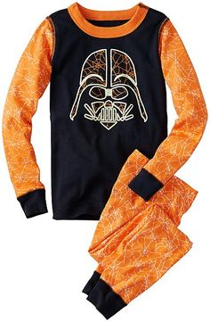 Star Wars™ Glow In Dark Pajamas In Organic Cotton by Hannan Andersson