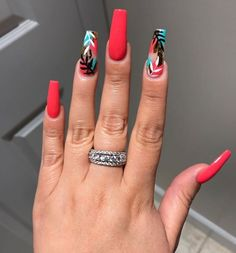 15 Color Changing Nail Inspirations Cool Nail Art Designs 2019 Creative Nail Designs for Short Nails to Create Unique Styles Summer Acrylic Nails, Best Acrylic Nails, Acrylic Nail Designs Coffin, Summer Nails, Creative Nail Designs, Creative Nails, Art Designs, Design Ideas, Hot Nails