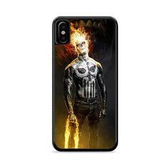 Punishment Punisher Ghost Rider Art iPhone 6 Plus Iphone 6, Iphone Cases, Ghost Rider, Punisher, Bucky, Cheap Custom Phone Cases, 6s Plus Case, Cosplay, Art