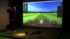 Skytrak Golf Launch Monitor Demo