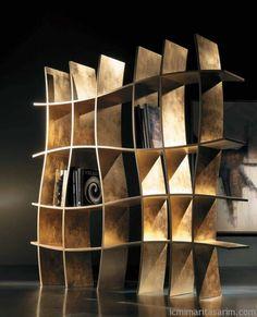 Sıradışı Kitaplık Tasarımları | İç Mimari Tasarım