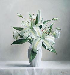 Цветы от художника Pieter Wagemans – Ярмарка Мастеров