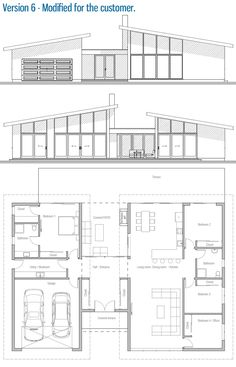 Modified House Plan / Customer Home