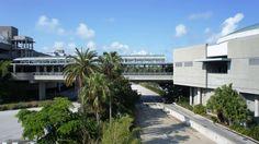 Universal Orlando's parking garages & transportation hub.