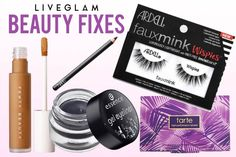 Beauty Fixes for the Most Annoying Makeup Problems! Gel Eyeliner, Winged Eyeliner, Pencil Eyeliner, Beauty Advice, Beauty Hacks, Pro Makeup Tips, Oily T Zone, Urban Decay Eyeshadow Primer, Makeup Looks