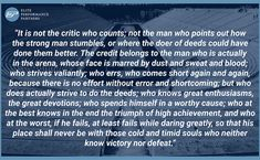 brene brown man in the arena quote - Google Search