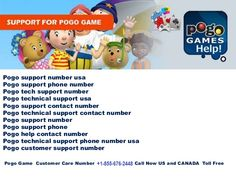 Pogo Games Customer Service welcome you the simplest way to get help for pogo games and provide quick support for pogo issues. Get instant help for recover pogo password,recover pogo password and help when pogo password gets expired.Call @ +1-855-676-2448.